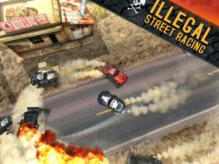 free iPhone app Death Rally