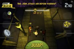 free iPhone app World League Zombies Run
