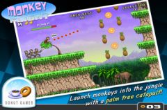 free iPhone app Monkey Flight