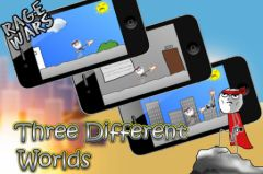 free iPhone app Rage Wars - Meme Shooter