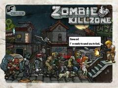 free iPhone app Zombie Kill Zone HD
