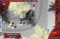 free iPhone app Simple Racing HD
