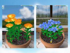 free iPhone app Flower Garden