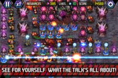 free iPhone app Tower Defense: Lost Earth
