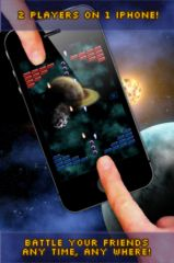 free iPhone app SpaceOff - Intense Head-to-Head Battle Game