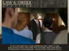 free iPhone app Law & Order: Legacies