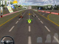 free iPhone app Circuit Racer 2