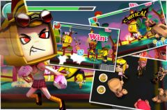 free iPhone app Lucky Fighter - Casual Action Game