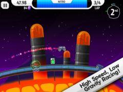free iPhone app Lunar Racer