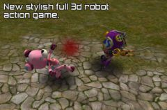 free iPhone app Robot Battle