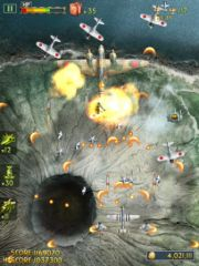 free iPhone app iFighter 2: The Pacific 1942