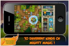 free iPhone app Treasure Defense HD