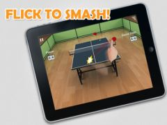 free iPhone app Virtual Table Tennis 2: Ping Pong Online HD
