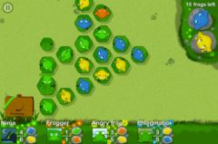 free iPhone app Army of Frogs HD