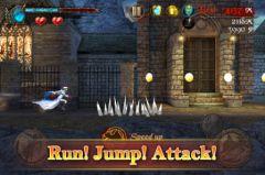 free iPhone app Darkness Rush: Saving Princess