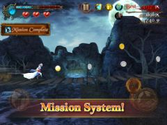 free iPhone app Darkness Rush: Saving Princess