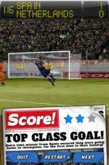 free iPhone app Score! Classic Goals