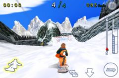 free iPhone app Incredible Snowboard