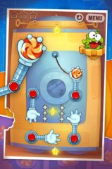 free iPhone app Cut the Rope: Experiments