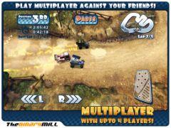 free iPhone app Mini Motor Racing HD