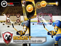 free iPhone app Big Win Hockey