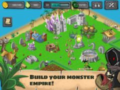 free iPhone app Monster Village - Angry Monsters