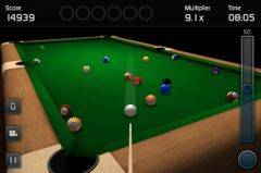 free iPhone app 3D Pool Game