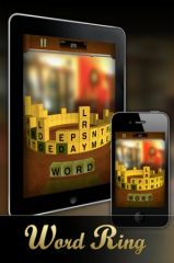 free iPhone app Word Ring