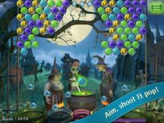 free iPhone app Bubble Witch Saga