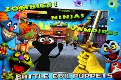 free iPhone app Puppet War:FPS