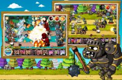 free iPhone app 9Heroes Defence : Zombie Invasion