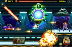 free iPhone app Atomic Galactic Rider - Van Pershing in Space