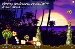 free iPhone app Jungle Crash Land