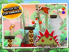 free iPhone app Dino Rush