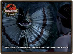 free iPhone app Jurassic Park: The Game 1 HD