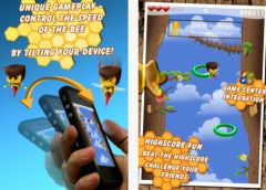 free iPhone app Killer Bee - the fastest bee around