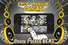 free iPhone app Couch Potato Beat
