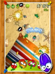 free iPhone app Fruit Rumble