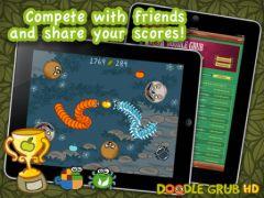 free iPhone app Doodle Grub HD