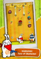 free iPhone app Robber Rabbits!