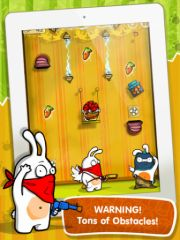 free iPhone app Robber Rabbits! HD