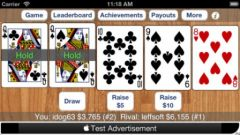free iPhone app Poker XL