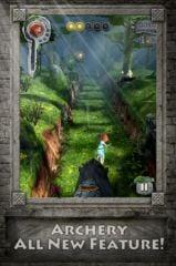 free iPhone app Temple Run : Rebelle