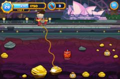 free iPhone app Gold Miner Go!