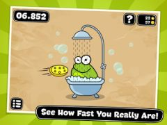 free iPhone app Tap the Frog Doodle HD