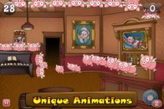 free iPhone app Wacky Pigs