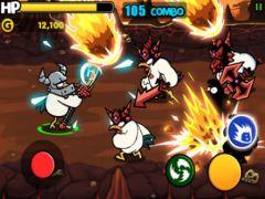free iPhone app Chicken Revolution : Warrior