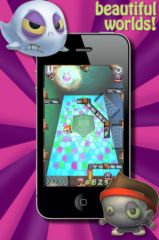 free iPhone app Zig Zag Zombie