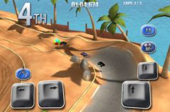 free iPhone app Model Auto Racing