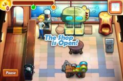 free iPhone app Chocolate Shop Frenzy